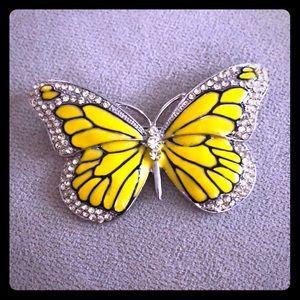 Jewelry - Monarch Butterfly Pin Brooch